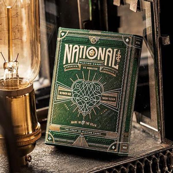 Mazzo di carte Green National Playing Cards