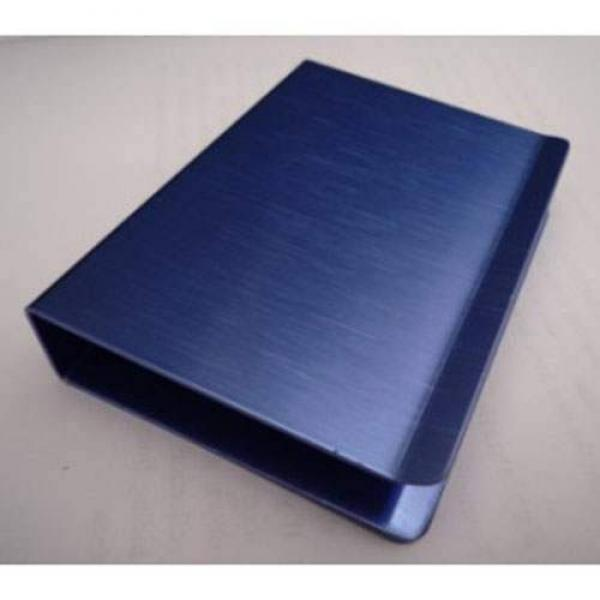 Aluminum Card Clip - SUPER - Blue