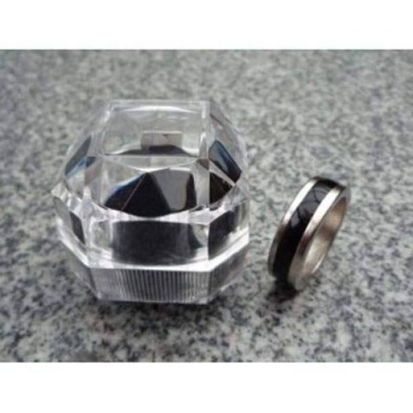 Magnetic Engraved PK Ring (Black,Deluxe) - 18 mm