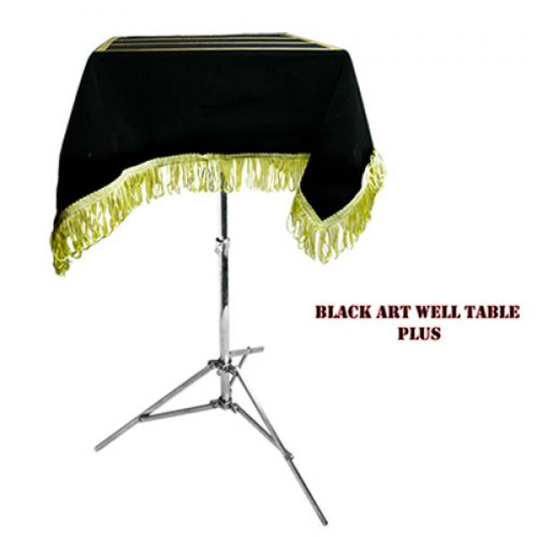 Black Art Table (moving well)