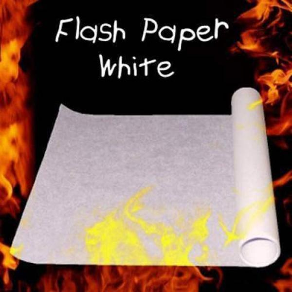 Flash Paper White 50x21 cm
