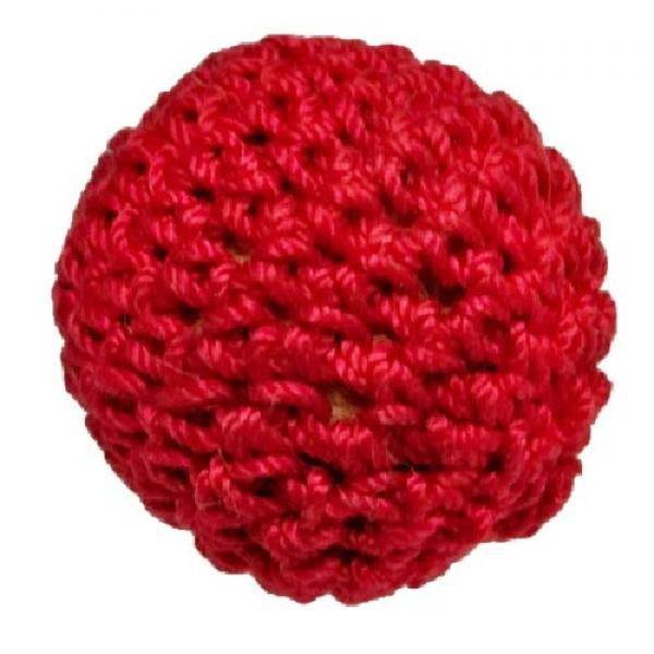 Magnetic Crochet Ball - Red 3.2 cm