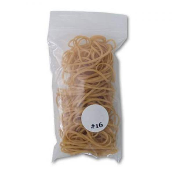 Gold Rubberbands - 100 units (6.35 cm) #16
