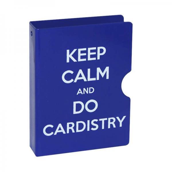 Card Guard - Keep Calm and do Cardistry - Blue