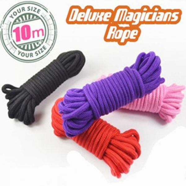 Deluxe Magicians Rope - Black 30 ft (10 mt)