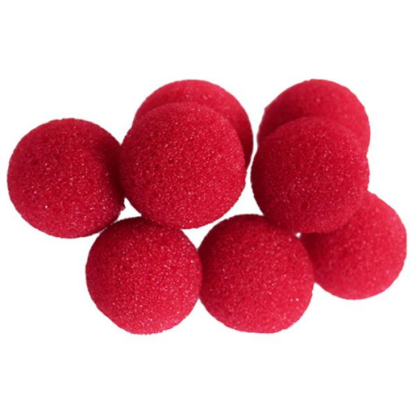 Mini Super Soft Sponge Balls (Red) set of 8 from M...