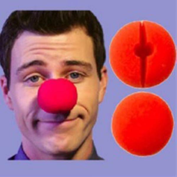 "Clown Nose 2"" - Sponge (Red)"