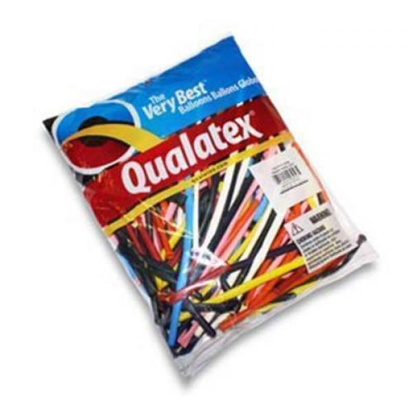 Qualatex Q260 - Assorted balloons (100 pcs. per ba...