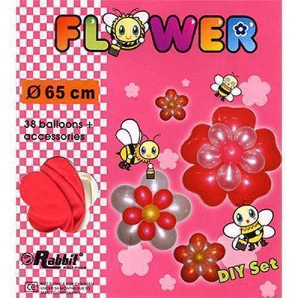 Four Balloon Flower Kit DIY SET (38 balloons 65cm)...