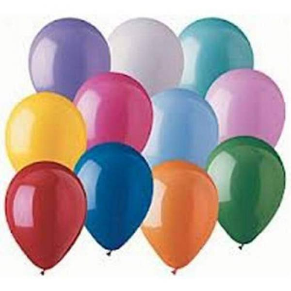 Balloons Latex 12.5 cm - 100 units - Violet