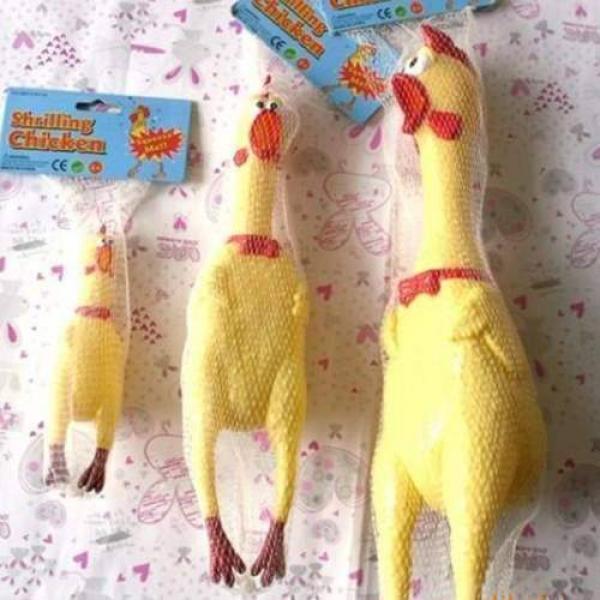 Rubber Shrilling Chicken - Grande