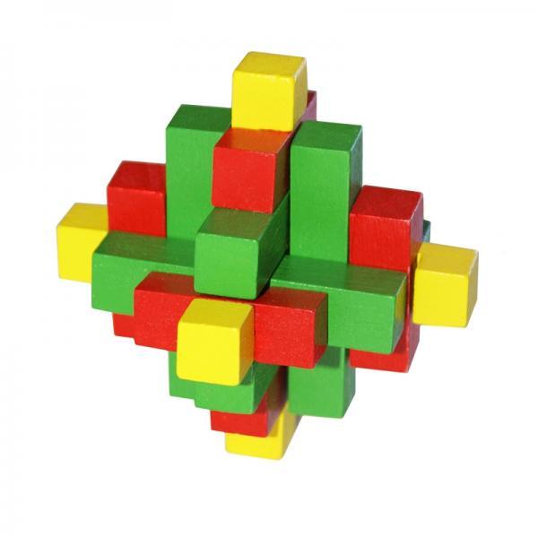 Tricolor Puzzle - Rompicapo