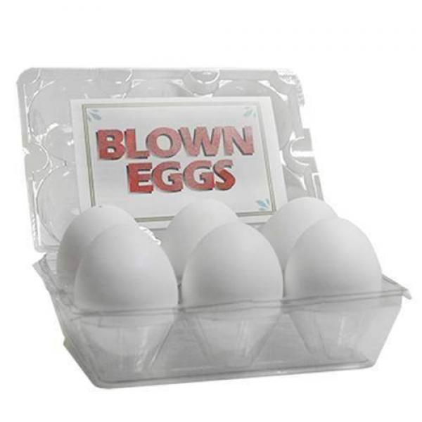 High Quality Blown Eggs(White / 6-pack) by The Gre...