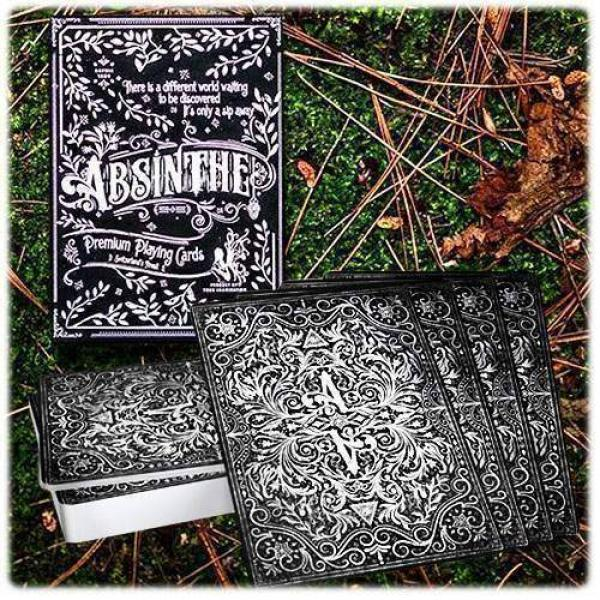 Absinthe Playing Cards (Prohibition Series) by Ell...