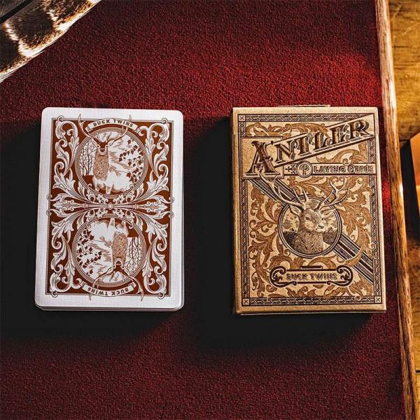 Antler Playing Cards by Dan & Dave - Tobacco B...