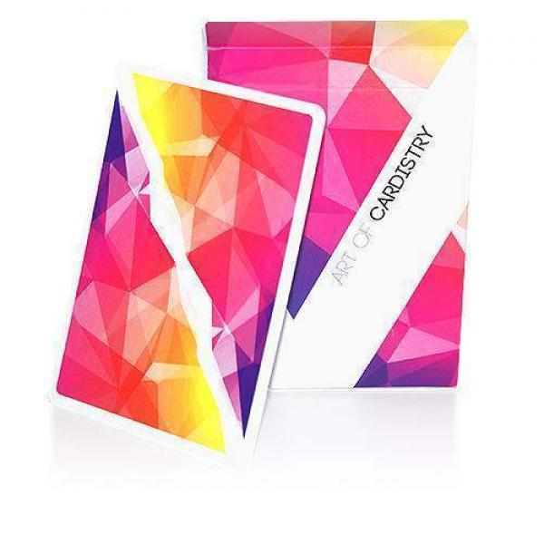 Art of Cardistry Playing Cards - Pink-Red Edition