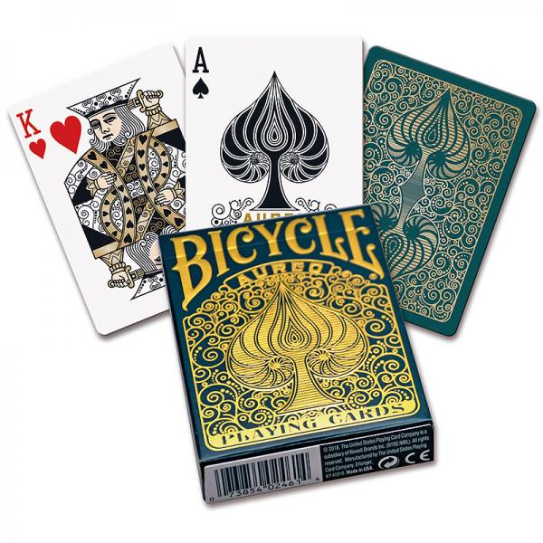 Mazzo di carte Bicycle - Aureo Playing Cards
