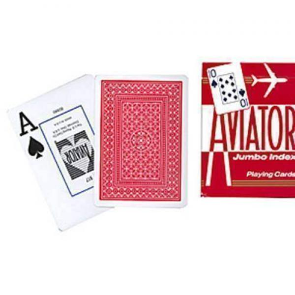 Aviator - Format poker jumbo index - red back