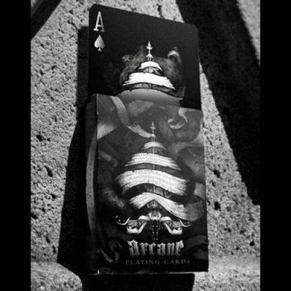 Bicycle Arcane Black - Rising card Deck by Ellusio...