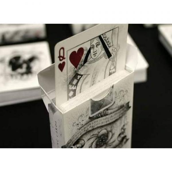 Bicycle Arcane White - Rising Card Deck by Ellusio...