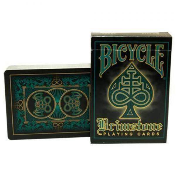 Bicycle Brimstone Deck (Water) by Gambler's W...