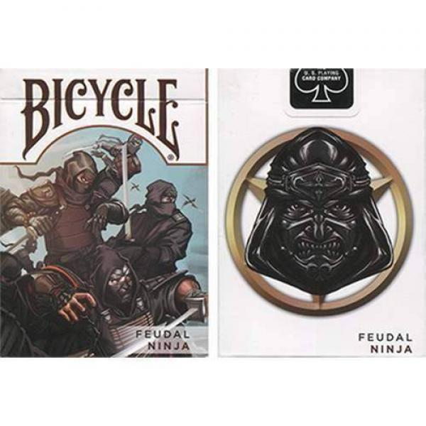 Bicycle Feudal Ninja Deck by Crooked Kings