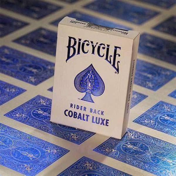 Bicycle    MetalLuxe Cobalt Rider Back by US Playi...