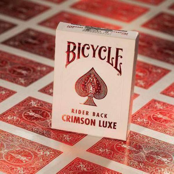 Bicycle - MetalLuxe Crimson Rider Back by US Playi...