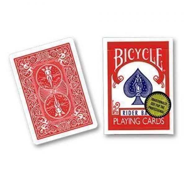 Bicycle Playing Cards (Gold Standard) - Red back b...
