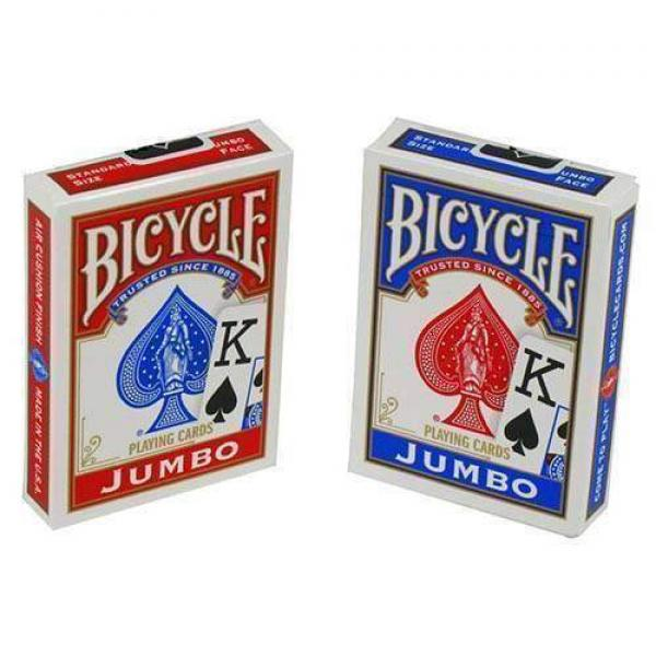 Bicycle Jumbo Size Poker - Blue