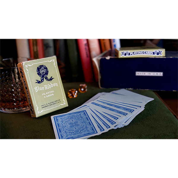 Blue Ribbon Playing Cards (Blue)