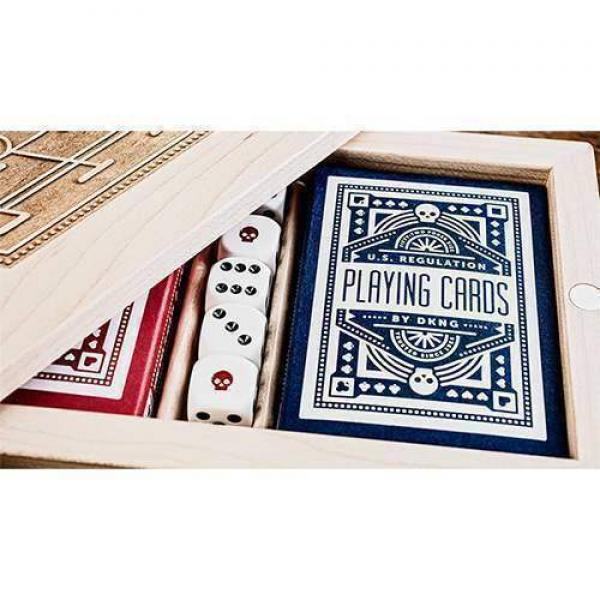 Mazzo di carte Blue Wheel Playing Cards by Art of ...