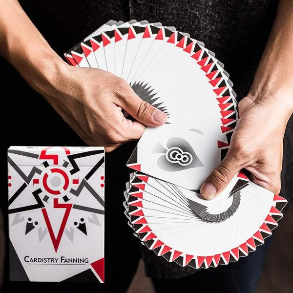 Cardistry Fanning Playing Cards - White Edition