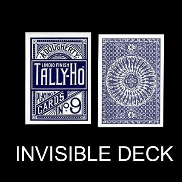 Invisible deck Tally Ho - Circle Back - Blue back