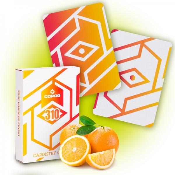 Copag 310 Cardistry Cards - Alpha - Orange Slim Li...