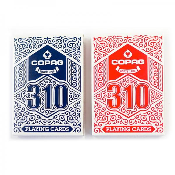 Copag 310 Playing Cards - Standard - 1 blue deck a...