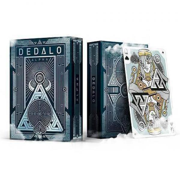 Dedalo Playing Cards - Alpha by Giovanni Meroni