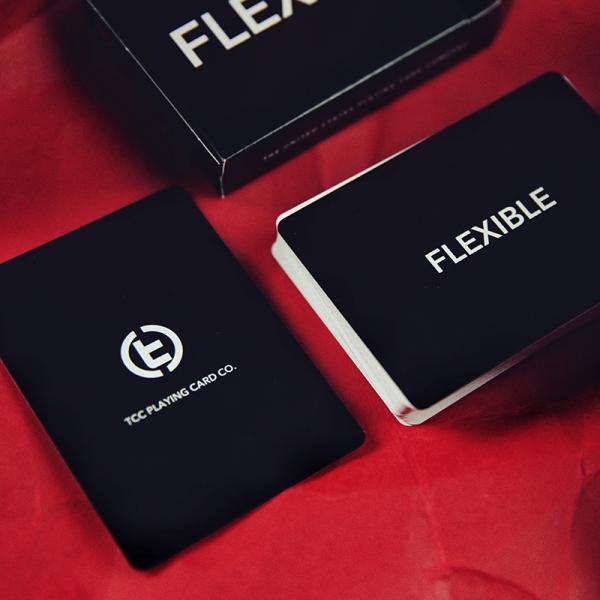 Mazzo di carte Flexible Playing Cards - Black
