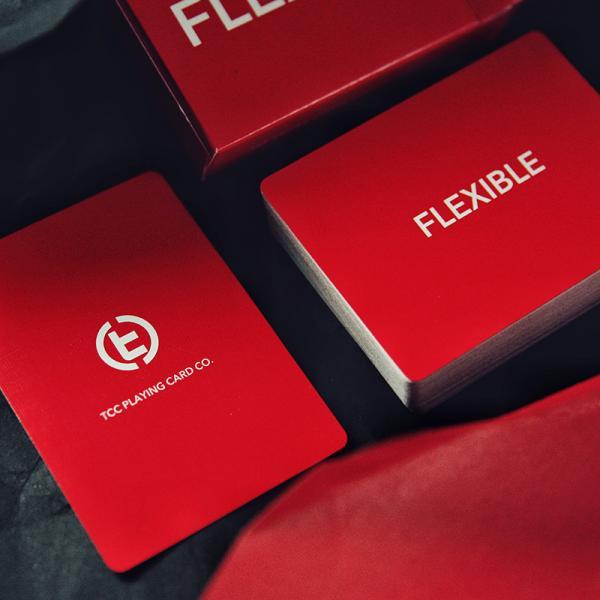 Mazzo di carte Flexible Playing Cards - Red