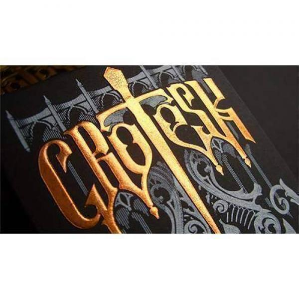 Grotesk Macabre Playing Cards (Black Tuck) by Lotr...