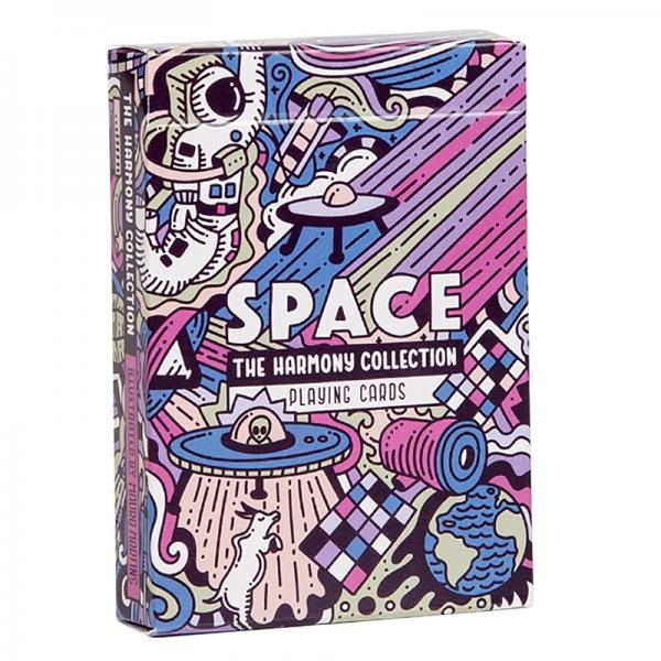 The Harmony Collection Playing Cards - Space