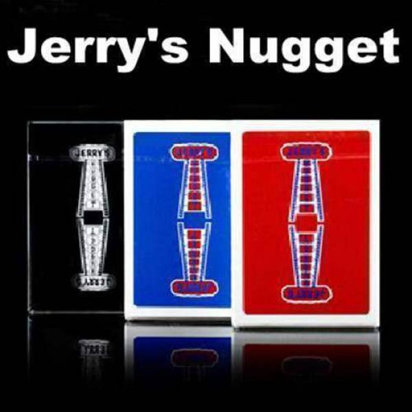 Jerry's Nugget Playing Cards (Black) - rare anasta...