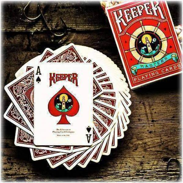 Keeper Deck  (Marked) - Red by Ellusionist