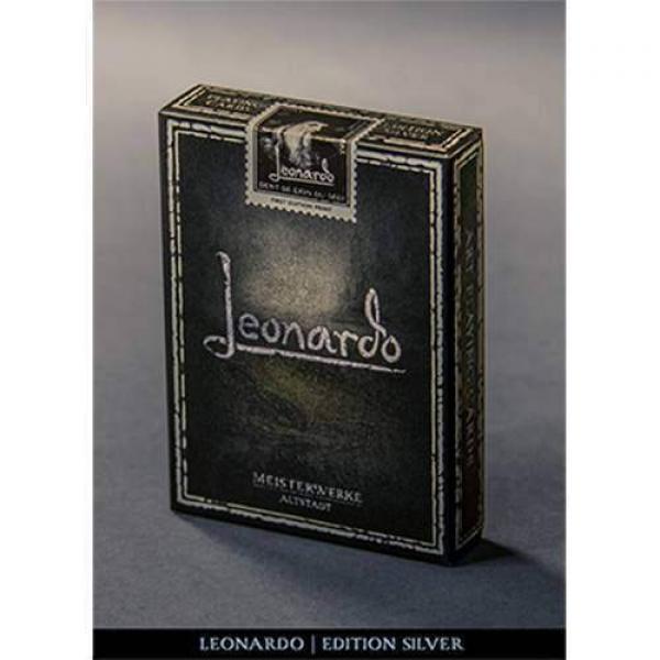 Mazzo di carte Leonardo (Silver Edition) by Legend...