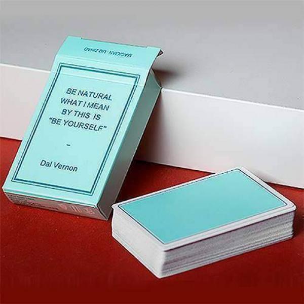 Mazzo di carte Magic Notebook by Bocopo Playing Ca...