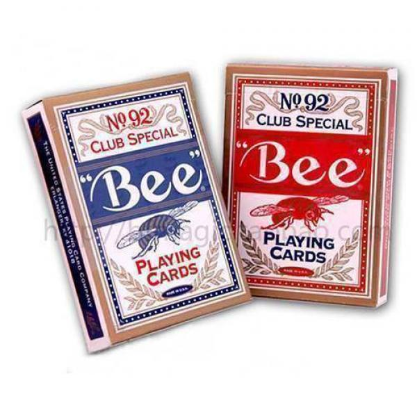 Marked cards - Bee Playing Cards (Red) - UV
