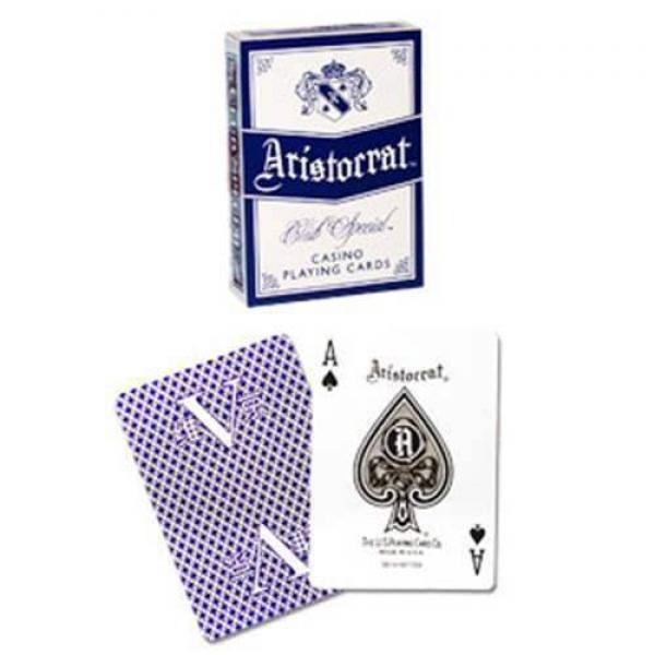 Mazzo di carte Aristocrat - V - dorso blu