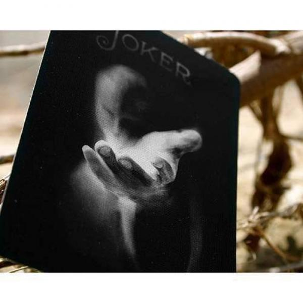 Bicycle Black Ghost by Ellusionist - with SOLOMAGIA Card Bag