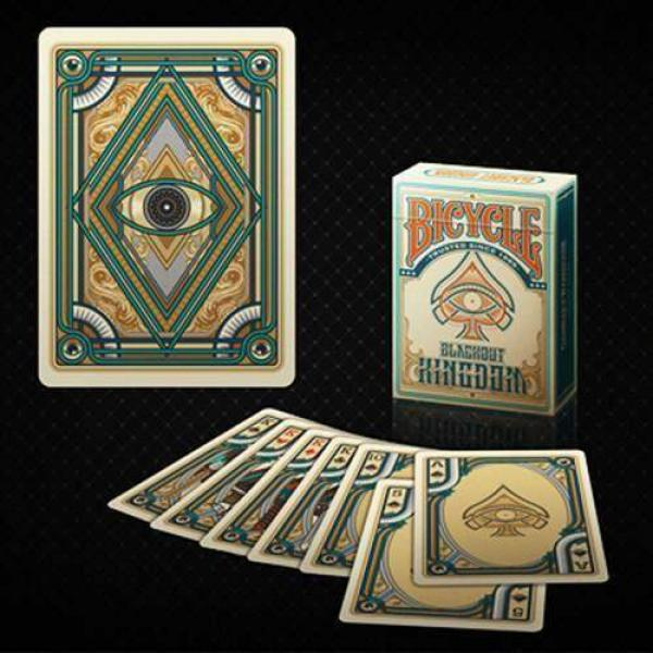 Bicycle Blackout Kingdom Deck (Light Shade) by Gam...