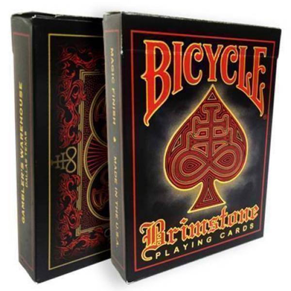 Bicycle Brimstone Deck (Red) by Gambler's War...